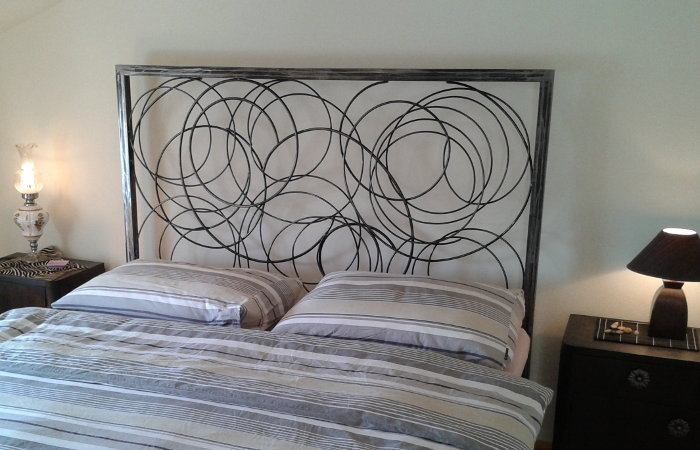 Wrought iron bed - No.3021