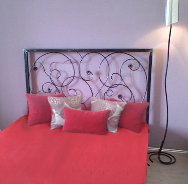 Wrought iron bed - No.3020