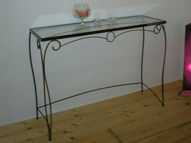 Iron console table - No.2023
